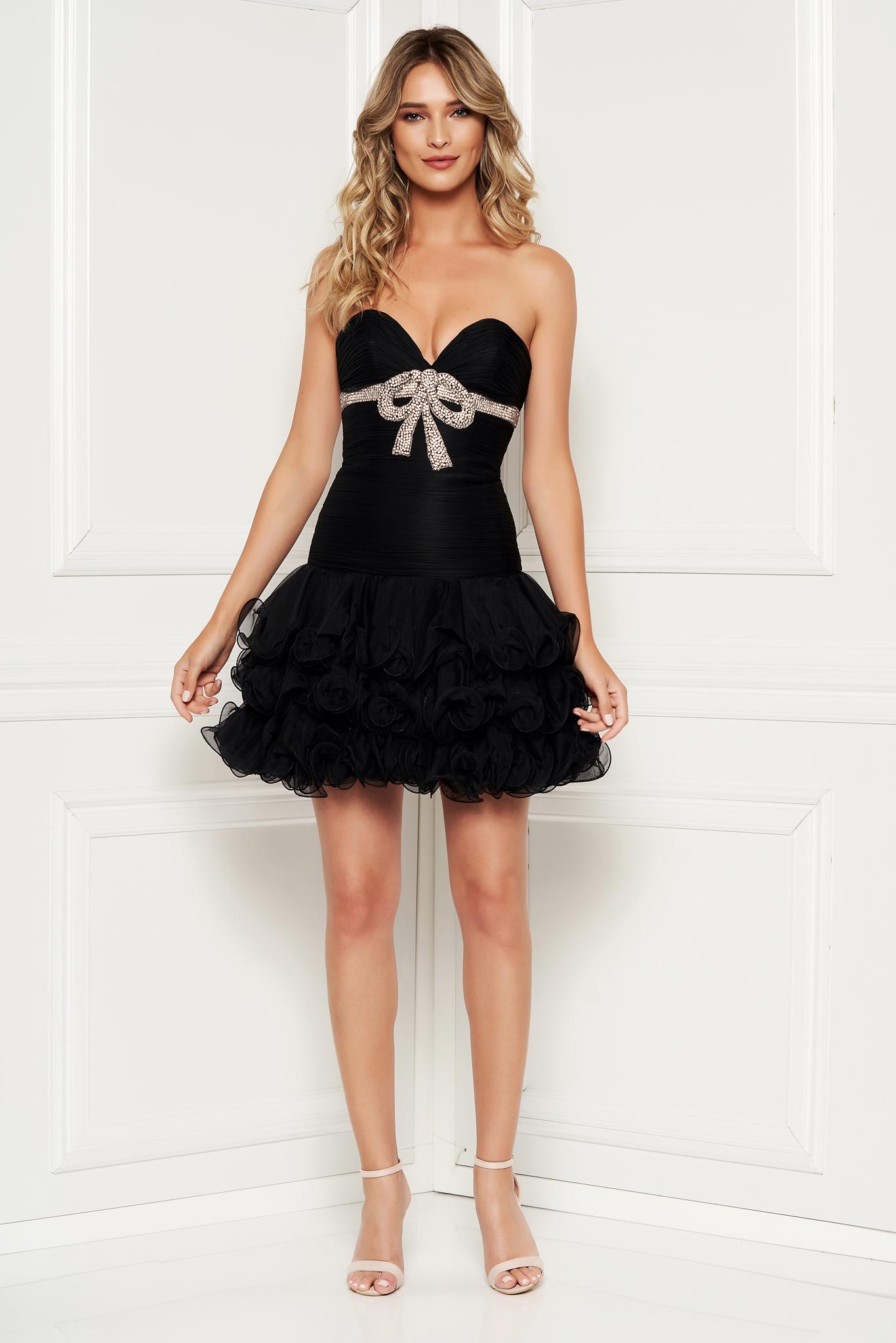 Sherri Hill luxurious black dress