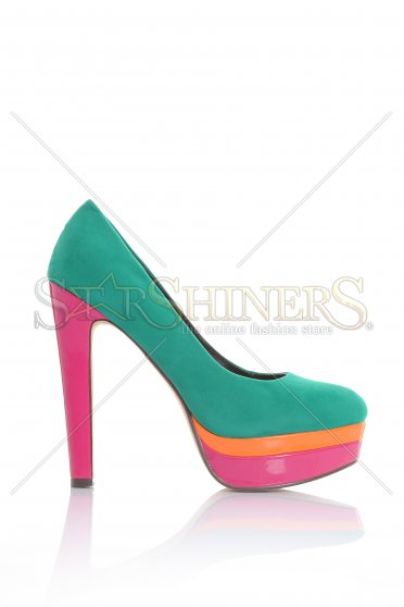 Colour Love Green Shoes