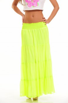 Mexton Tropical Colour Green Skirt