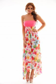 Rochie Mexton Delicious Fruit Pink
