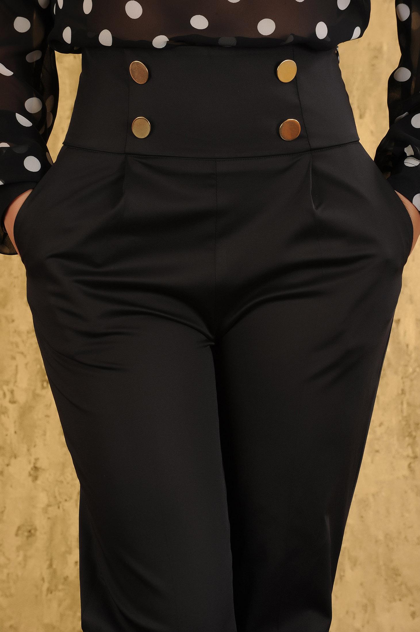 Pantaloni PrettyGirl Look Black