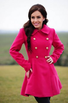 LaDonna Fashion Journey Fuchsia Coat