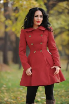LaDonna Fashion Journey Red Coat