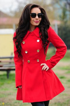 LaDonna Fashion Journey Red Coat