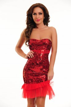 Ocassion Love Wish Red Dress