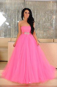 Sherri Hill Sparkling Treasure Pink Dress