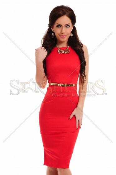 Rochie PrettyGirl Famous Glam Red