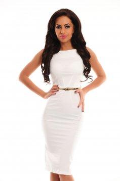 Rochie PrettyGirl Famous Glam White