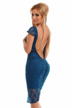 Rochie PrettyGirl Charming Style Turquoise