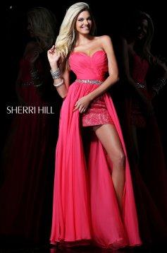Sherri Hill 1570 Pink Dress