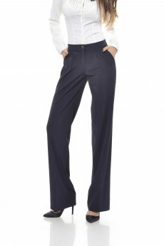 PrettyGirl Embellished DarkBlue Trousers