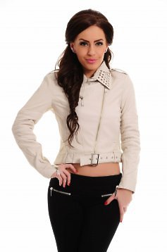 Mexton True Leather Nude Jacket