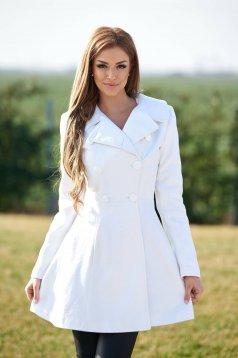 LaDonna Be Elegant White Coat