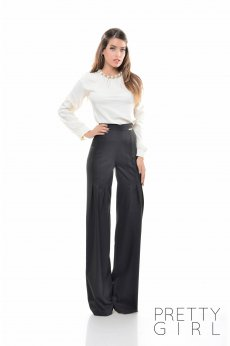 PrettyGirl Magnified Black Trousers