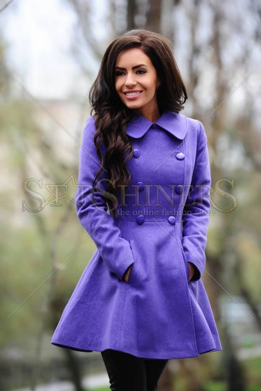 Palton LaDonna Be Elegant Purple