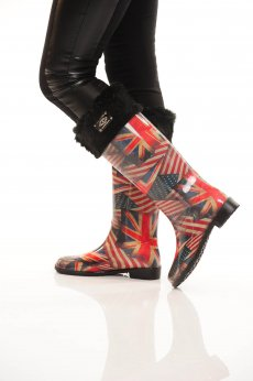 Mexton UK Affair Black Boots