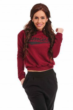 Perfect Cloud Burgundy Sweater