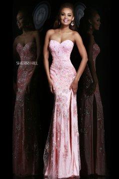Sherri Hill 9707 Pink Dress
