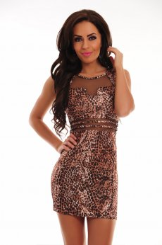 Rochie Jungle Fever Brown