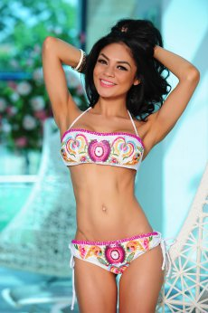 Costum De Baie Cosita Linda Hawaii White