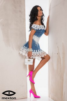 Rochie Mexton Faultless Look Blue