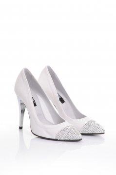 Pantofi Mexton First Twinkle White