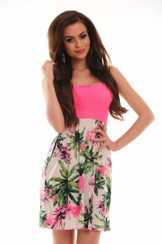 MissQ Exotic Passion Pink Dress