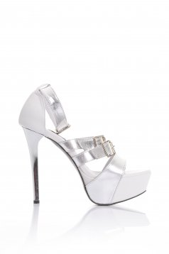 Mexton City Bling Grey Sandals