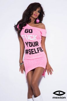 Rochie Mexton My Personality Pink