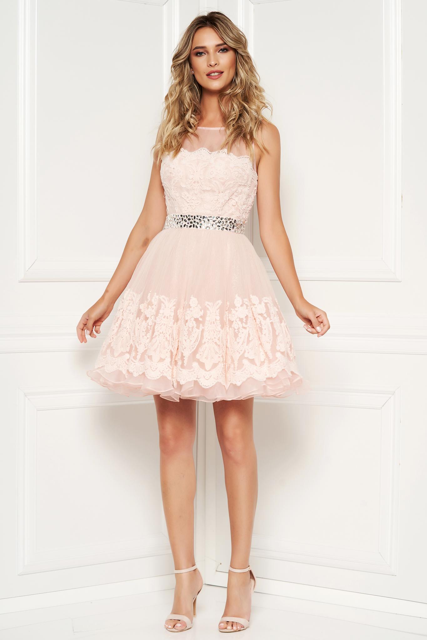 Sherri Hill rosa luxurious dress