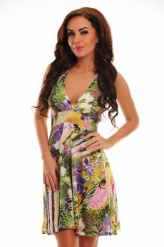 Rochie Exotic Meeting Green