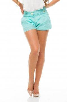 Pantaloni Scurti PrettyGirl Holey Turquoise