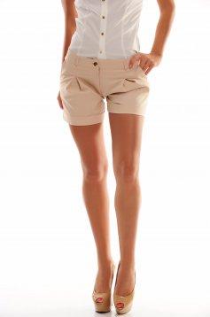 Pantaloni Scurti PrettyGirl Circles Cream