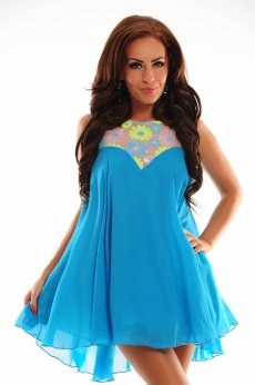 Rochie Artista Expensive Shine Turquoise