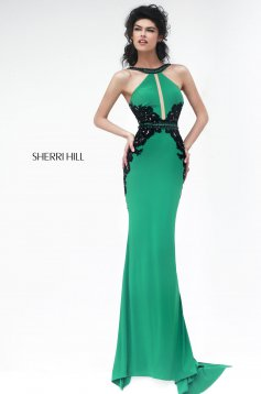 Sherri Hill 32013 Green Dress