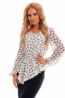 Bluza LaDonna Crowded Cover White