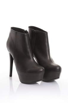 Mexton High Sensuality Black Ankle Boots