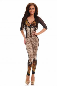 Salopeta MissQ Foxy Lace Cream
