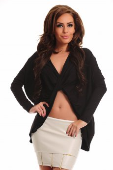 MissQ Young Carriage Black Blouse