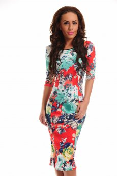 Rochie Artista Contagious Notes Red