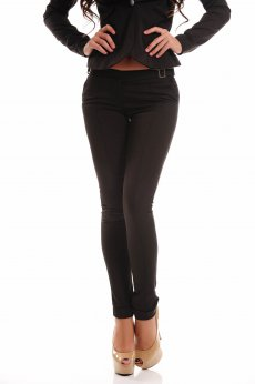 Fofy Urban Thrill DarkBrown Trousers
