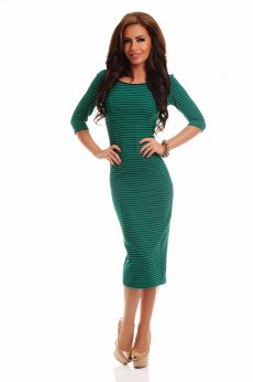 Rochie Artista Contagious Notes Green