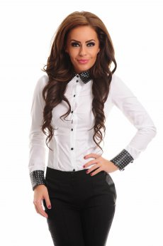 Camasa LaDonna Exclusive Collar White