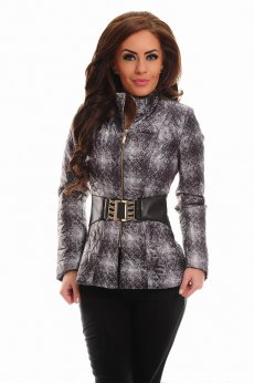Geaca LaDonna Engaging Look Grey