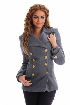 LaDonna Natural Concept Grey Coat