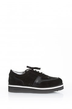 Mexton Trendy Feet Black Sneakers