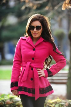 LaDonna Wallow Taste Pink Coat
