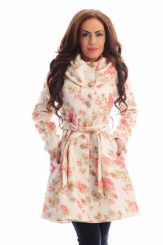 LaDonna Warm Time Cream Coat