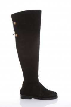 Mexton Stylish Walk Black Boots