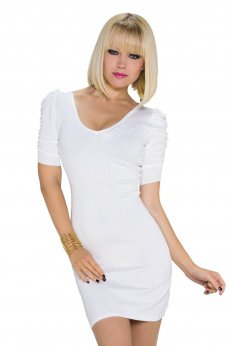 Simple Occurance White Dress